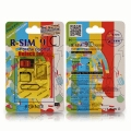 R-SIM 9C Unlock card for Iphone5C(IOS7-Plug&Play)