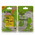 R-SIM 8+ unlock card for Iphone5/4s 3G/4G NO jailbreak(nano+micro)