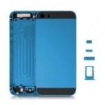 Middle frame with black glass slide key sim holder for Iphone5S