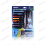 full set opening tools for iphone 5 with nano-sim cutter - kaisi 1805