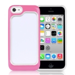 PC with TPU 2 in 1 bumper for Iphone5C