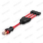 3 in 1 RJ45 Cable for ULG powered by GPGindustries (KF300.KG800.KE500)