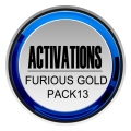 FURIOUS GOLD PACK13 Activation