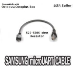 REXTOR OCTOPLUS MICRO USB UART CABLE 530K UNLOCK REPAIR LATEST SAMSUNG PHONES