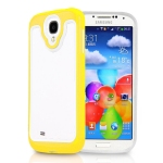 Plastic with White TPU Fashion bumper for Samsung Galaxy S4 I9500