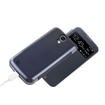 Case with power bank open window for Samsung S4